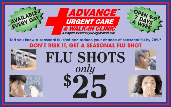 Advance Urgent Care Flu Shots
